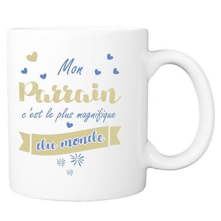 Mug personnalisé parrain le plus magnifique