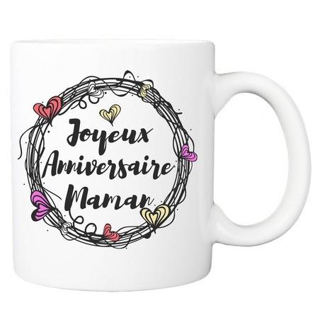 Mug personnalisé Joyeux anniversaire