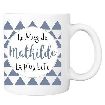 Le Mug de la plus belle - bleu ardoise