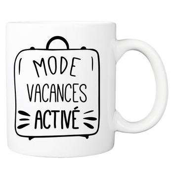 Mug Mode vacances activé