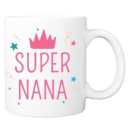 Mug personnalisé super nana