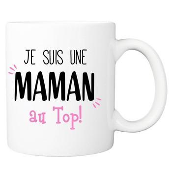 Mug Super Maman au top