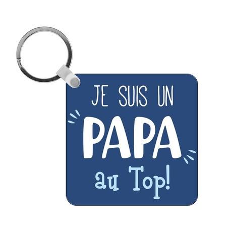 Porte-clés Papa au top