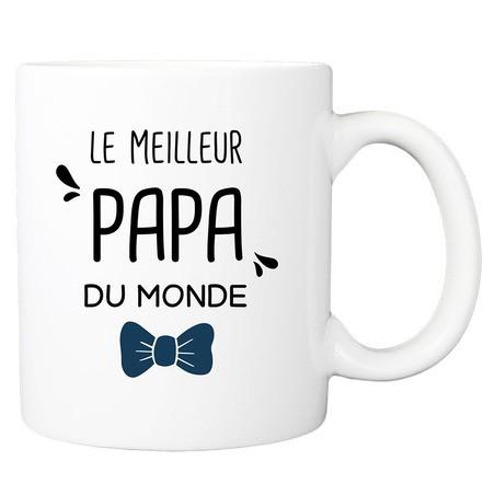 Mug personnalisé meilleur papa du monde