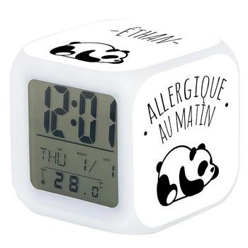 Réveil Panda allergique au matin
